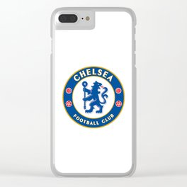 Chelsea Logo Clear iPhone Case