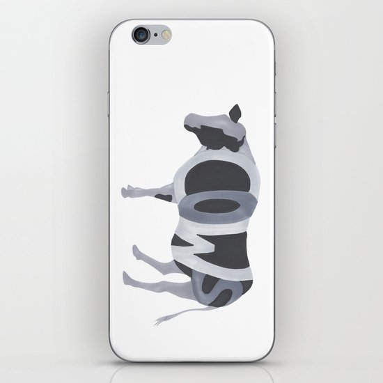 Cows Typography iPhone & iPod Skin