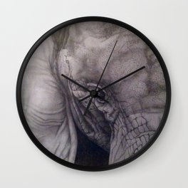 Up close & personal Wall Clock