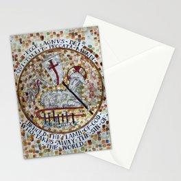 Agnus Dei Lamb of God Stationery Cards