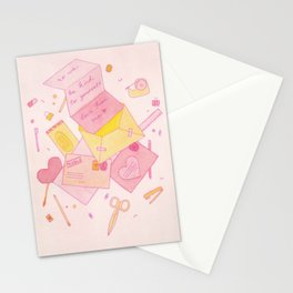 Love Letters to Yourself Stationery Cards