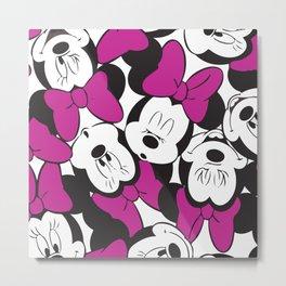 Minnie Mouse No. 13 Metal Print