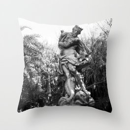 Antiquated Poise Throw Pillow
