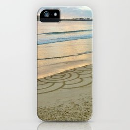 Ephemeral Tidal Rings (after) iPhone Case