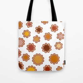 Floral Dots Tote Bag