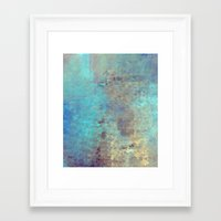 cracked Framed Art Prints featuring Cracked by Jessielee