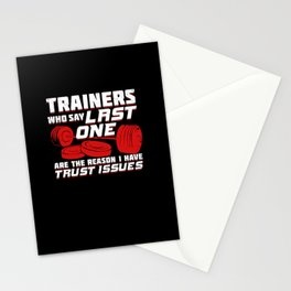 Personal Athletic Trainer Coach Gift Stationery Cards