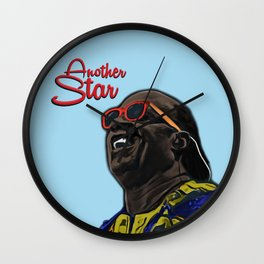Stevie Wall Clock