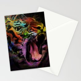 Tiger at the Gate Stationery Cards