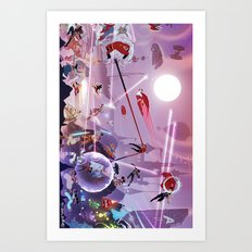 epic wars  Art Print