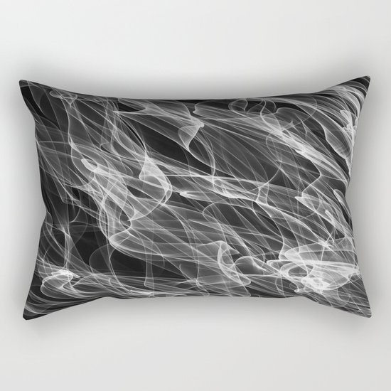 Smoke. Rectangular Pillow