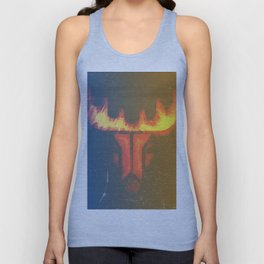 the days and nights of a raindeer Unisex Tank Top