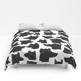 dog lover Comforters