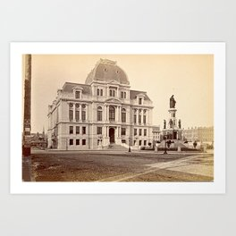 City Hall, Providence, Rhode Island Art Print