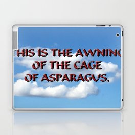 Cage of Asparagus Laptop & iPad Skin