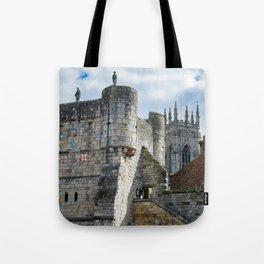 York Minster and Bootham Bar Tote Bag