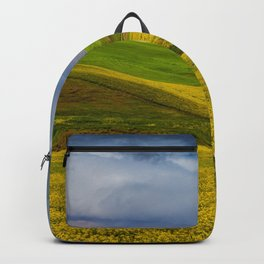 Canola Flowers Backpack