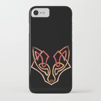 celtic iPhone & iPod Cases featuring Celtic fox - celtic knot by Ioreth