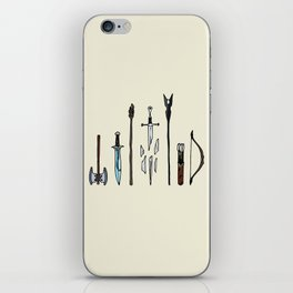 Fellowship of the arms iPhone Skin