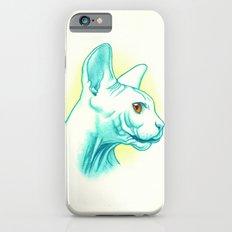 Sphynx cat #01 iPhone 6s Slim Case