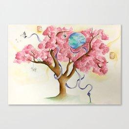 Peace Treety Canvas Print
