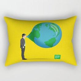Don't Blow It Rectangular Pillow