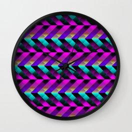 Dark Purple Wall Clock