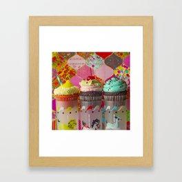 Cirque du Cupcake III Framed Art Print