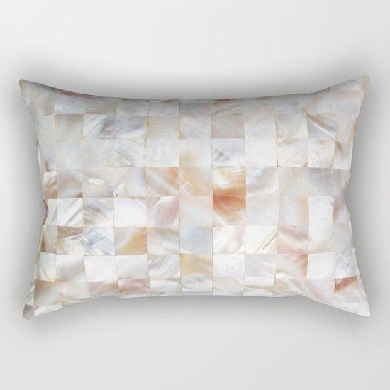 Mother of Pearl #society6 #decor #buyart Rectangular Pillow