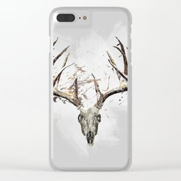 King of the Forrest - Trophy Buck - Deer Clear iPhone Case
