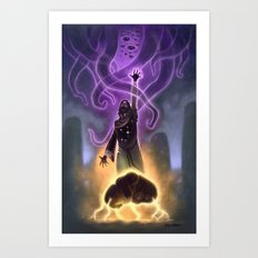 Old Wizard Whateley Art Print