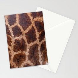 Giraffe Fur Stationery Cards