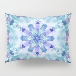 Royal Blue and Purple Mandala Pillow Sham