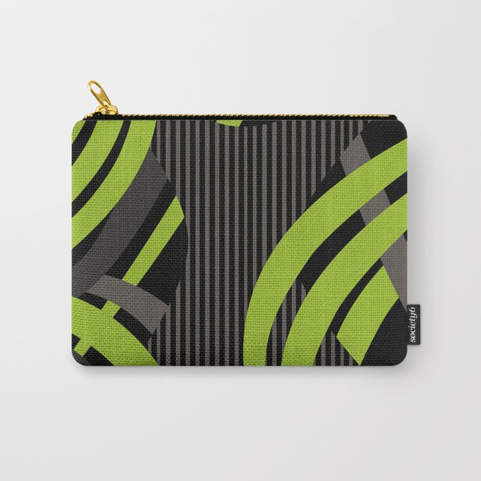Green Wire Carry-All Pouch