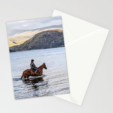 Horse at Airds Bay Loch Etive Stationery Cards