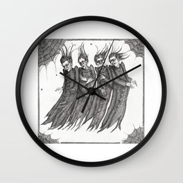 Retreat of The Fears Wall Clock