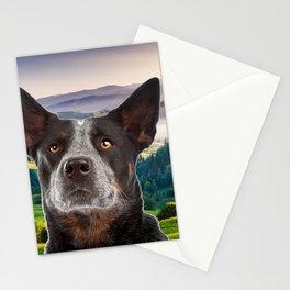 Australian Cattle Dog Stationery Cards