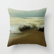 The Sea of Life Throw Pillow