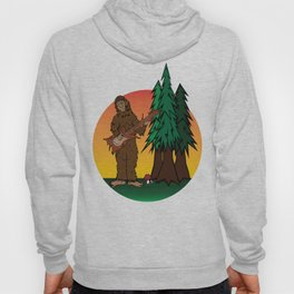 Sunset Sasquatch Hoody