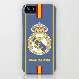 Real Madrid Spanyol iPhone Case