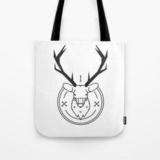 Hunters head Tote Bag