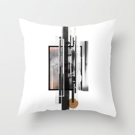 """Ramikin Three"" Graphic Art Print Throw Pillow"