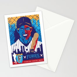 THE WARRIORS :: THE BASEBALL FURIES Stationery Cards