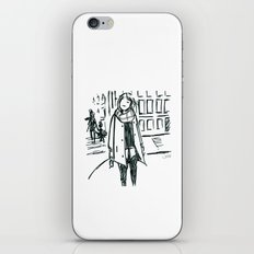 Brush Pen Fashion Illustration - Dreamer iPhone & iPod Skin
