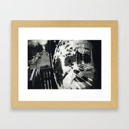 Untitled 'Mask' Framed Art Print