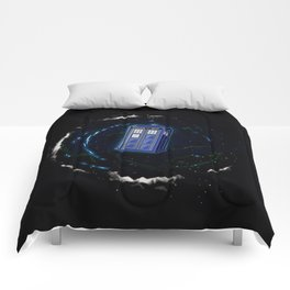 Space and Time and the Universe Comforters