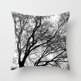 Tree Silhouette Series 1 Throw Pillow