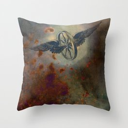 Simpler Machines Throw Pillow