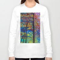 chaos Long Sleeve T-shirts featuring Chaos by Claire Doherty