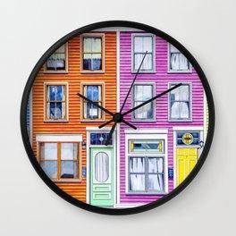Jelly Bean Row, 2016 Wall Clock